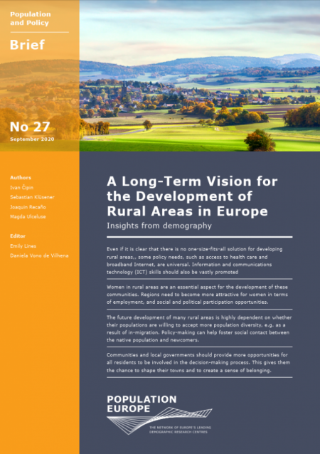 A Long-Term Vision for the Development of Rural Areas in Europe