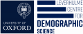 Leverhulme Centre for Demographic Science Logo