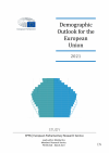 Demographic outlook for the European Union 2021 cover